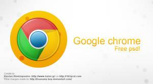 Google Chrome free psd