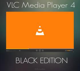 VLC Media Player 4| SKIN | Black Edition by MrRichardEdits
