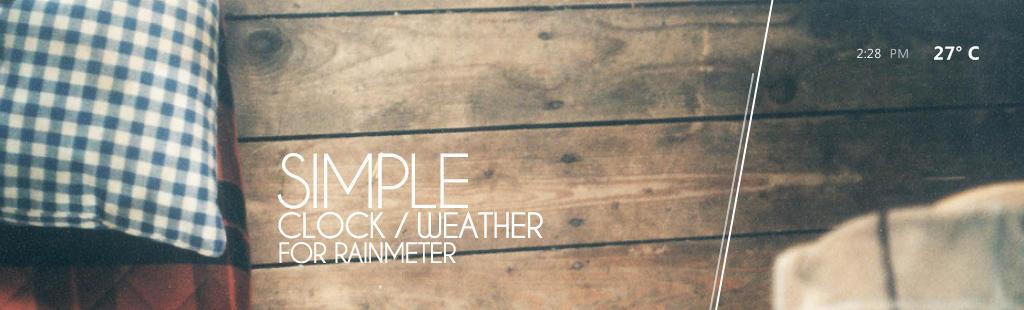 Simple Rainmeter by BemBem90