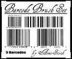 5 Barcode Brush Set
