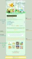 :Poke: Bugs Free Journal Skin by Hinachuu