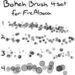 Bokeh brush set for FireAlpaca (Free)
