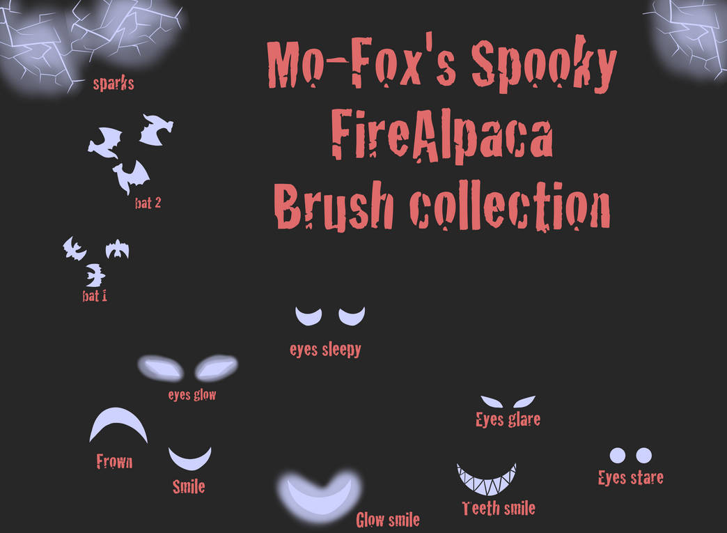 Free Leaf Brushes for FireAlpaca by Mofox Drawing in 2019