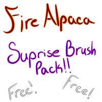 Free Random brush set -FireAlpaca- by Mo-fox