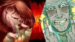 Chara vs Rick by SamBiswas95