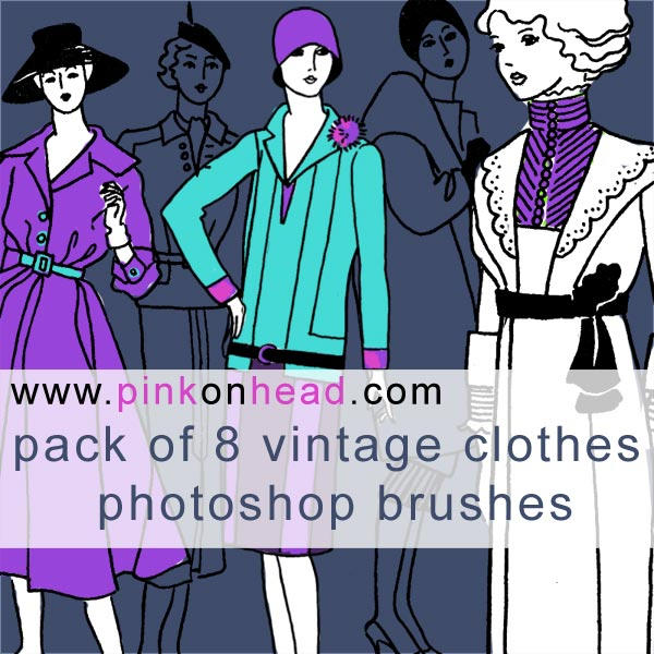 Vintage clothes by pinkonhead