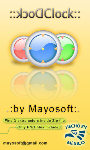 DockClock by Mayosoft