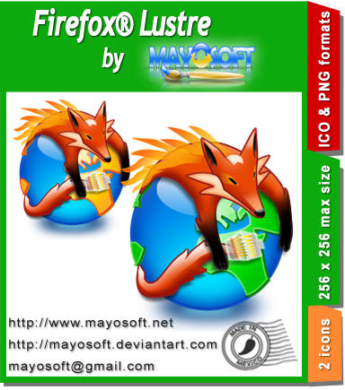 Firefox Lustre by Mayosoft