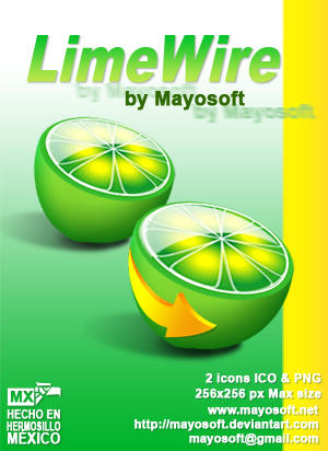 LimeWire 4.16.6 الاجنبية والبرامج والالعاب LimeWire_by_Mayosoft