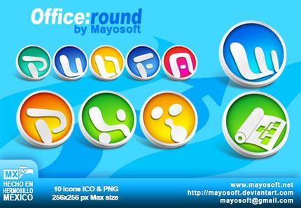 Office:round by Mayosoft