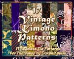 17 Vintage Kimono Patterns