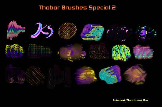 Thobar Brushes Special 2 Sketchbook Pro