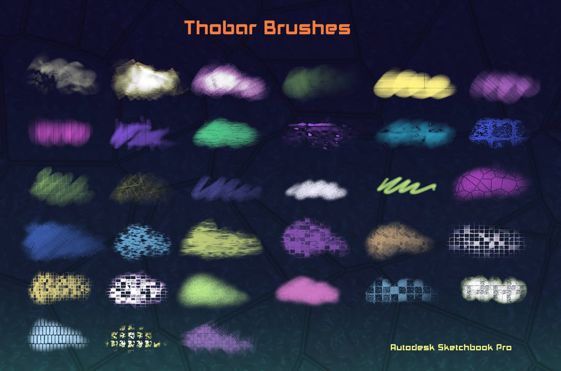Thobar Brushes Autodesk Sketchbook Pro (PC) by KarenStraight on