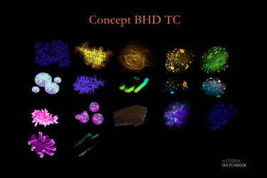 Concept BHD TC BrushSet Autodesk Sketchbook Pro by KarenStraight