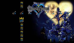 Kingdom Hearts Theme for PS3 by greenlamia