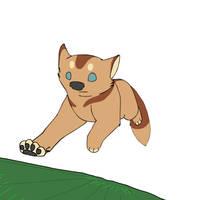 Running Dog by Avanii