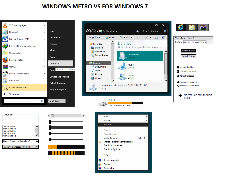 Windows Metro VS For Windows 7 by mrmyasdf