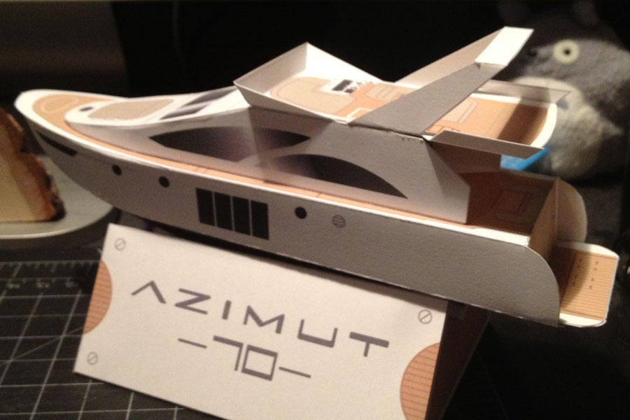 how to get an azimuth