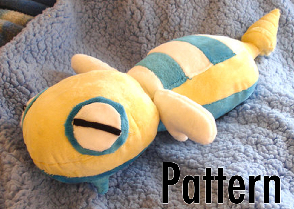 Dunsparce Free Plush Pattern