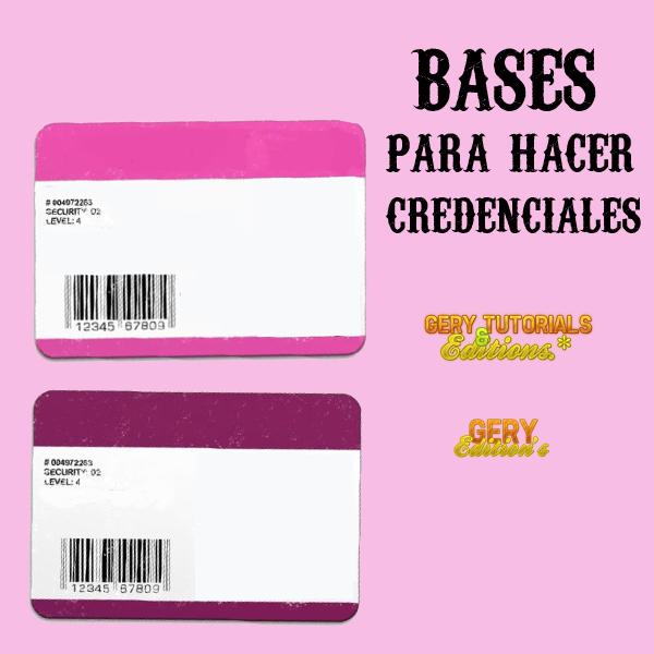 Bases para hacer credenciales by becreativepeople on - Hacer una manta de ganchillo ...