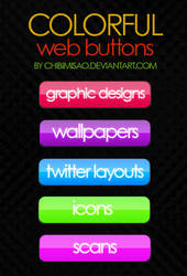 Colorful Web Button Pack