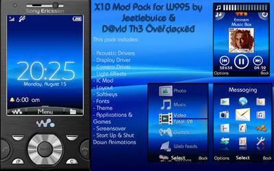 Sony Ericsson X10 Mod Pack by SrDavid