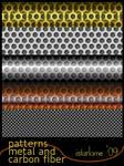 gimp patterns: metal-n-carbon