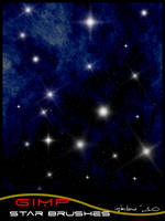gimp star brushes by istarlome