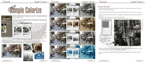 Sample Colorize by istarlome