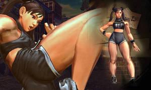SFxT pc Chun Li Sportswear Custom skin