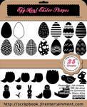 Egg Hunt Easter Shapes