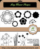 May Flower Custom shapes by jlr-lica