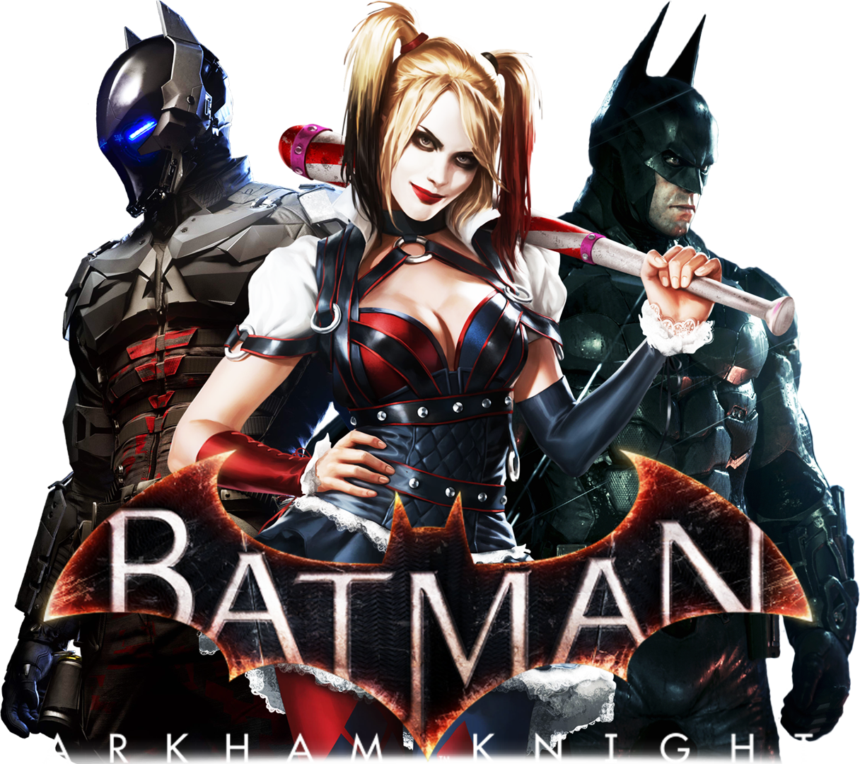 Batman Arkham Knight- PNG by RajivCR7