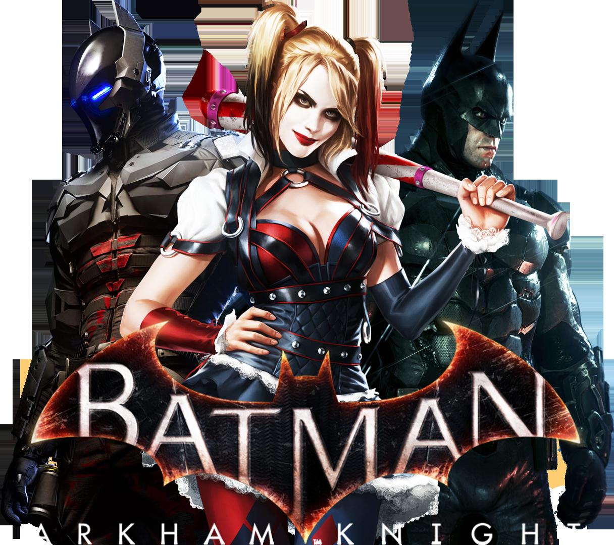 Batman Arkham Knight- PNG by RajivCR7