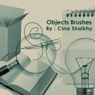 Objects Brushes by khakestari