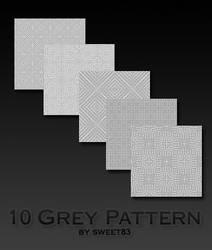 10 Grey Pattern