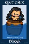 Keep Calm Thorin - animated