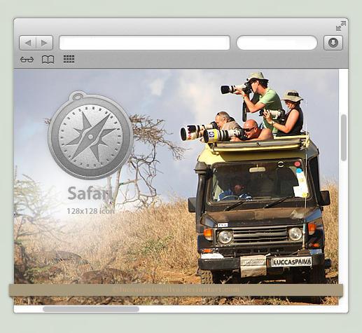 Safari Icon by luccaspaivasilva