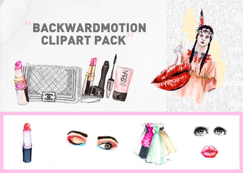 Clipart PNG. pack 003 by Backwardmotion