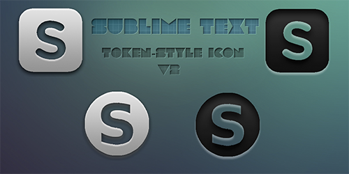 Sublime Text Token-style icon v2 by felipetiza