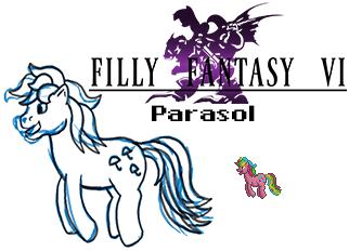 Parasol by RydelFox
