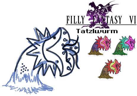 Tatzlwurm by RydelFox