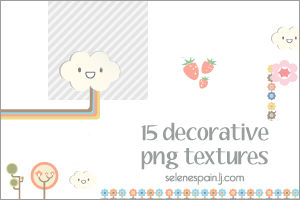 15 decorative png textures
