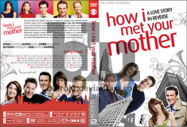HIMYM Season 2 Custom DVD Cover by blurokr