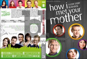 HIMYM Season 3 Custom DVD Cover by blurokr