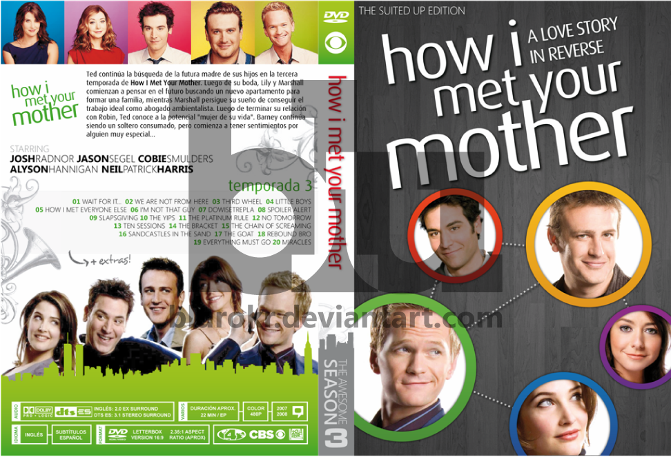 Himym season 3 custom dvd cover by blurokr on deviantart himym season 3 custom dvd cover by blurokr ccuart Images