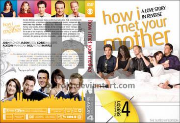 HIMYM Season 4 Custom DVD Cover by blurokr