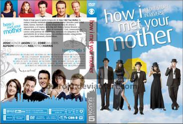 HIMYM Season 5 Custom DVD Cover by blurokr
