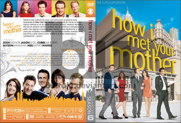 HIMYM Season 6 Custom DVD Cover by blurokr