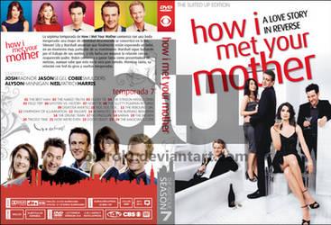 HIMYM Season 7 Custom DVD Cover by blurokr